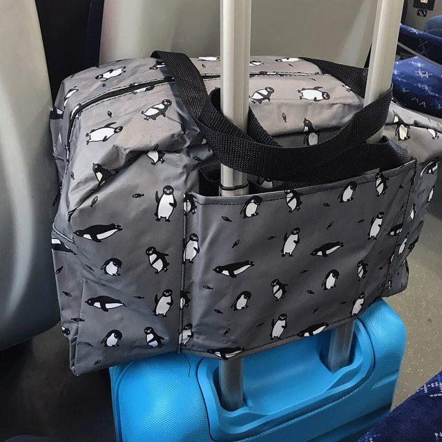 suica penguin travel bag
