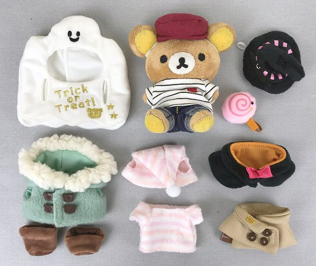 rilakkuma dress up plush