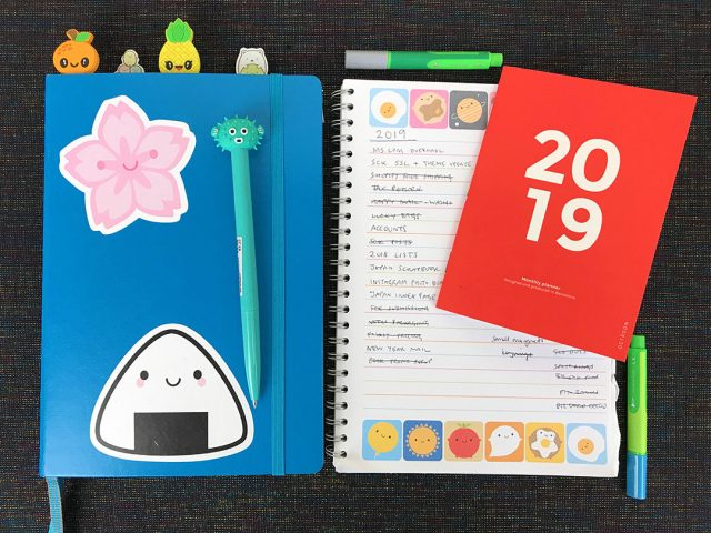 2019 diary and planners