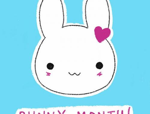 bunny month on patreon