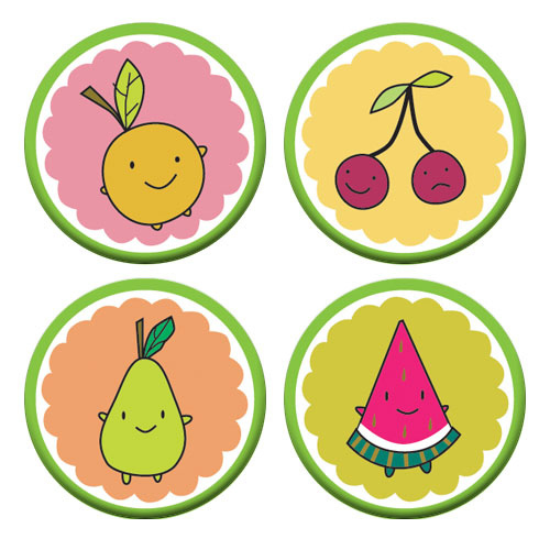 5 a day badges