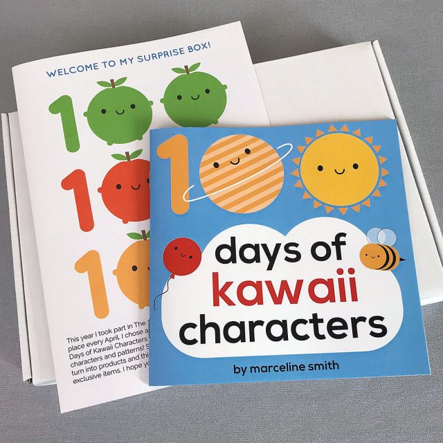 100 Days of Kawaii Characters Surprise Box