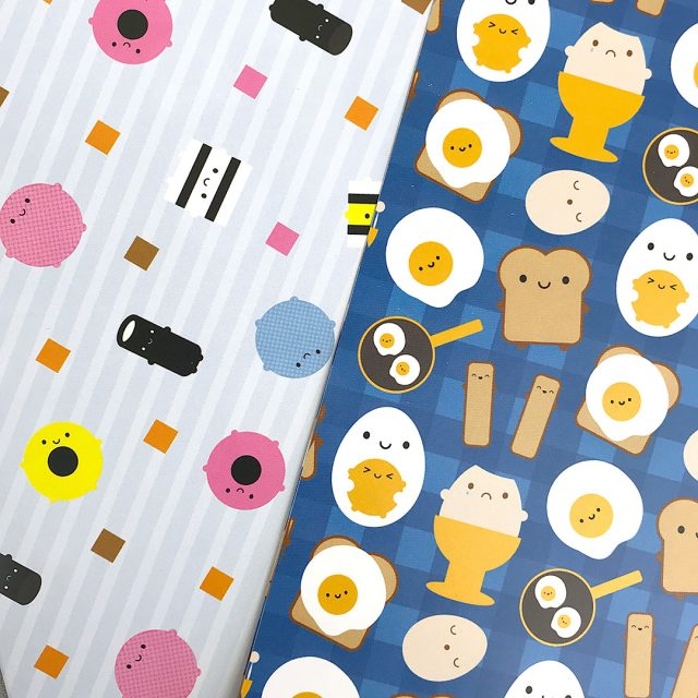 kawaii gift wrap/craft paper