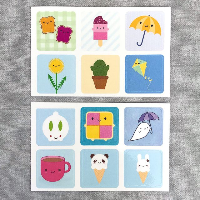 Kawaii Sticker sheet
