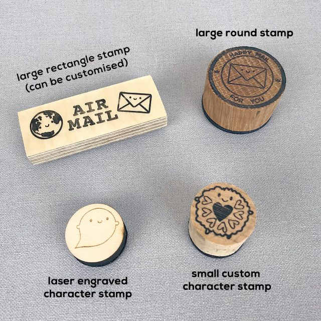 stamp sizes