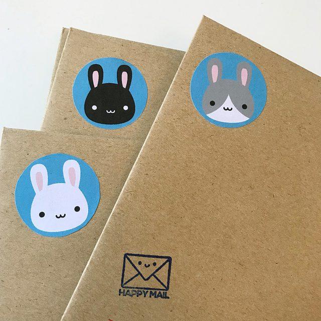 Bunny Happy Mail