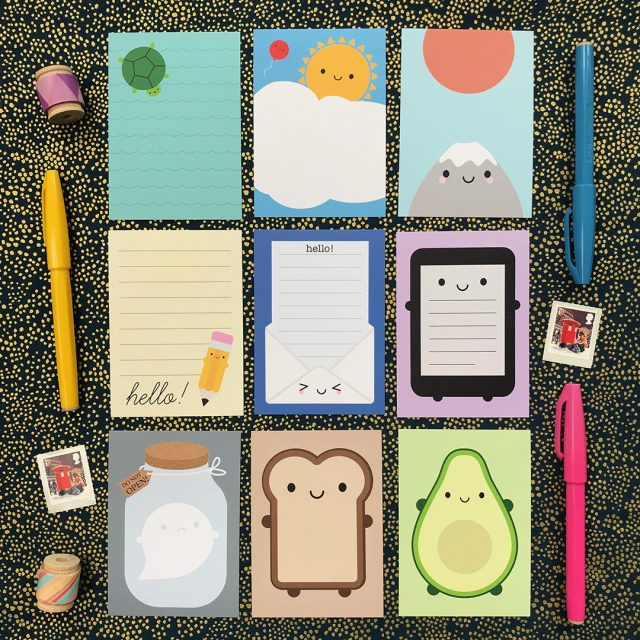 kawaii stationery - mini memo sheets