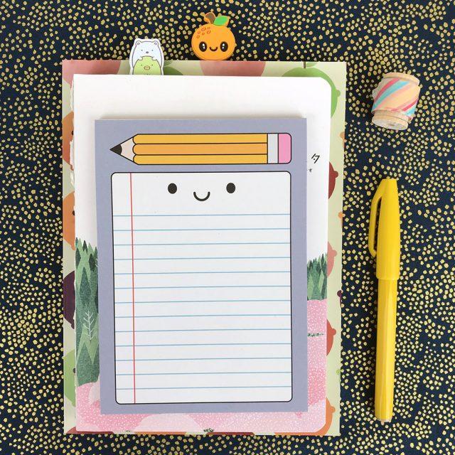 kawaii stationery notepad