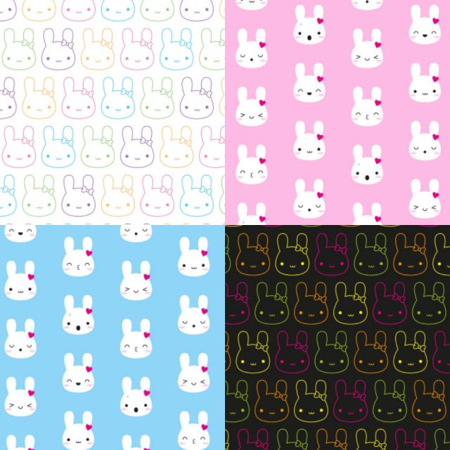 bunny patterns - marcelinesmith