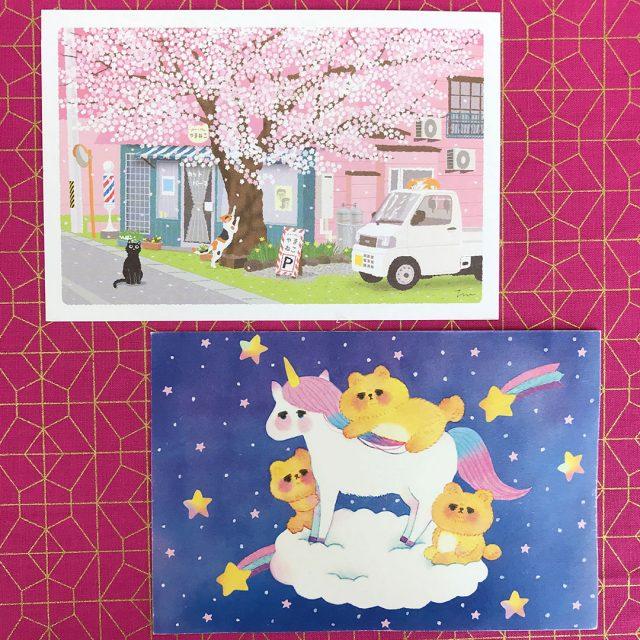 rainbowholic patreon postcards