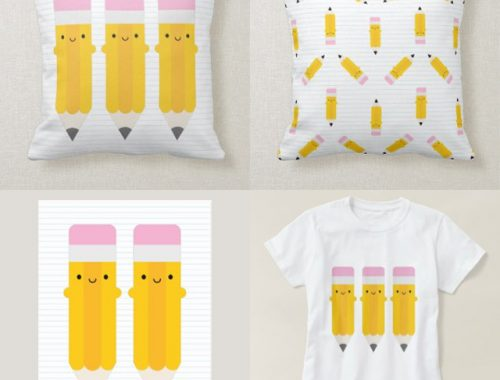 kawaii pencils - zazzle