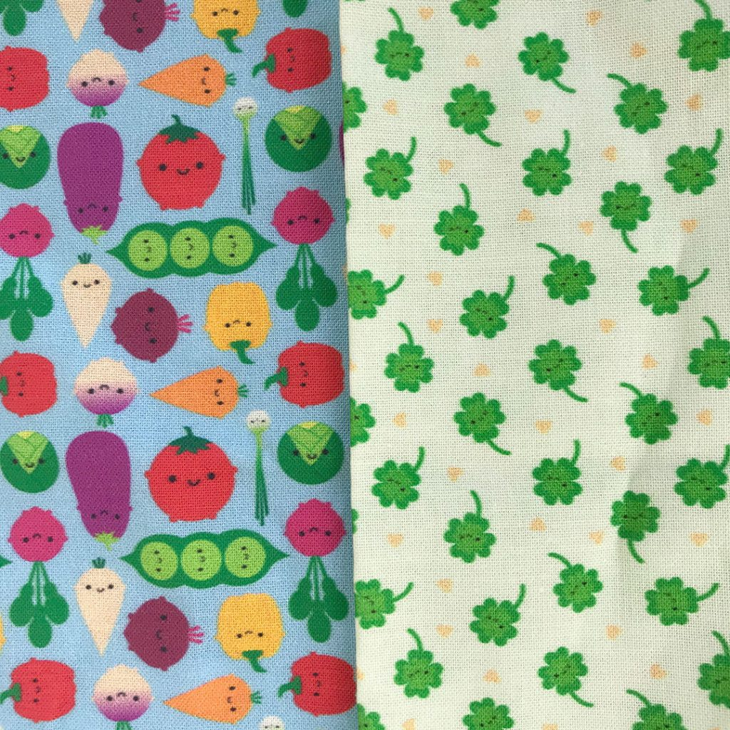 kawaii fabric mini prints