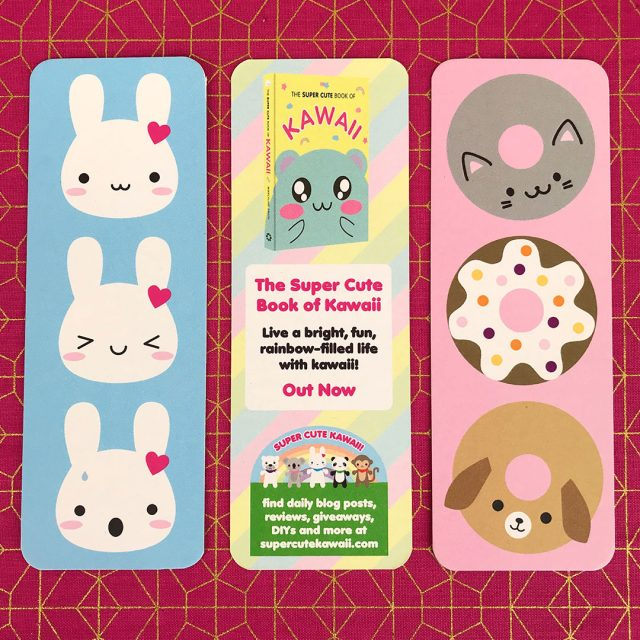 The Super Cute Book of Kawaii bookmarks