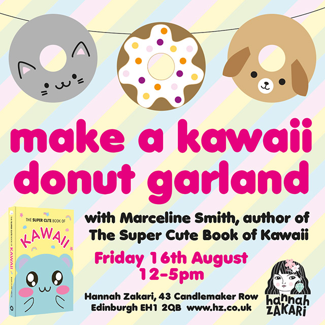 Make A Donut Garland With Me in Edinburgh