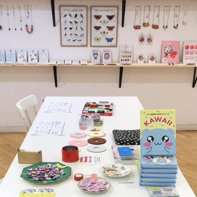 kawaii donuts craft workshop