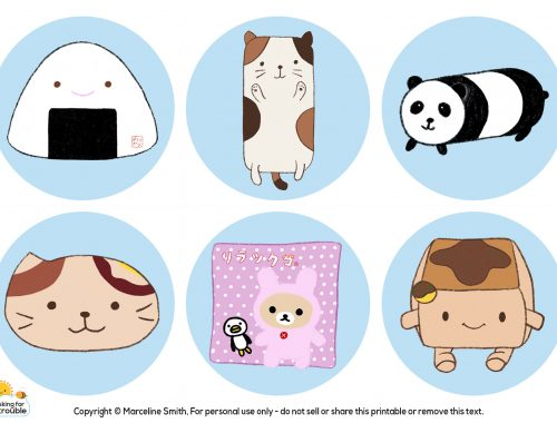 kawaii pillows from Japan
