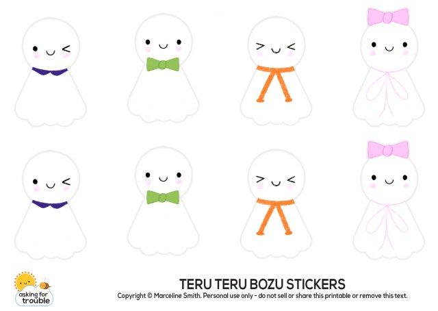 teru teru bozu printable stickers