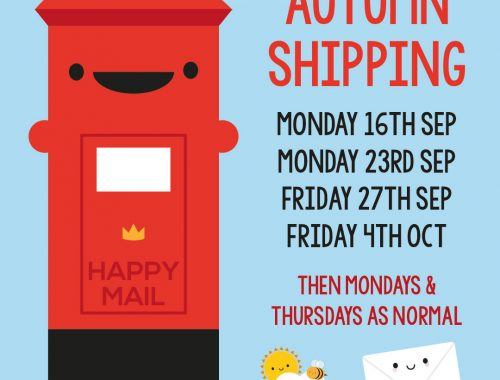 autumn shipping