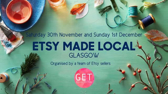 Etsy Made Local Christmas market in Glasgow