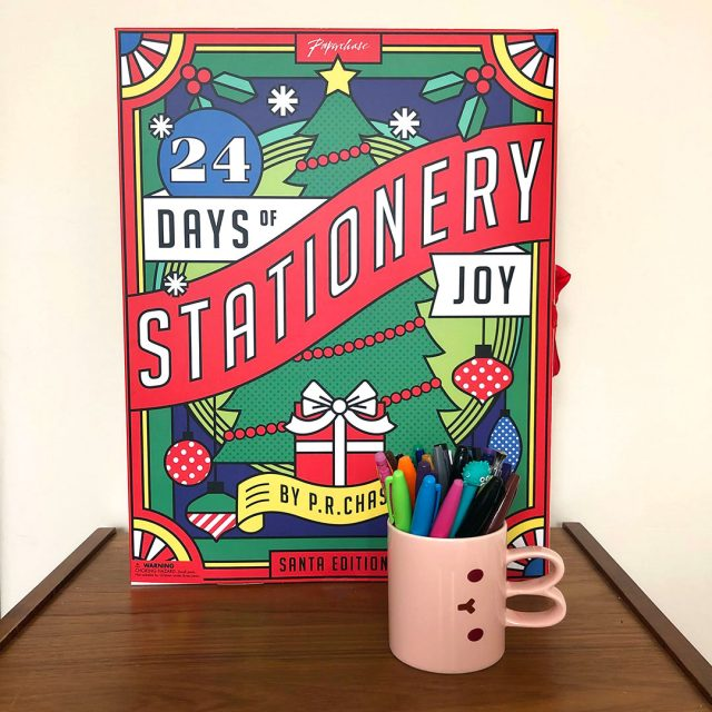 paperchase stationery advent calendar