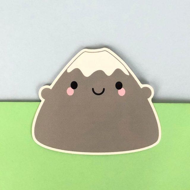 mt fuji kawaii stickers