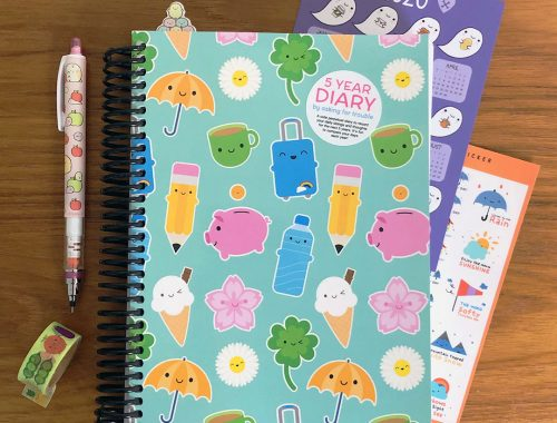 5 Year Diary for 2020-2024