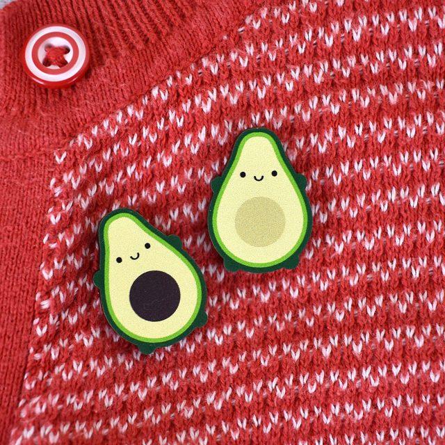cute avocado pins