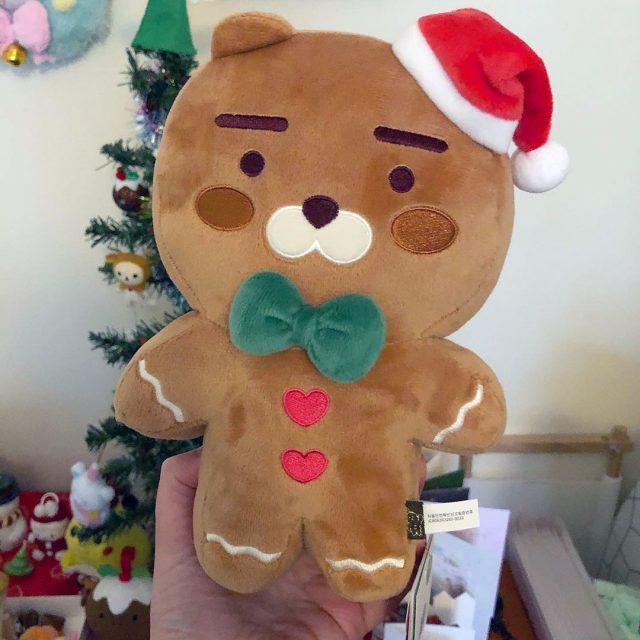 Gingerbread Ryan plush
