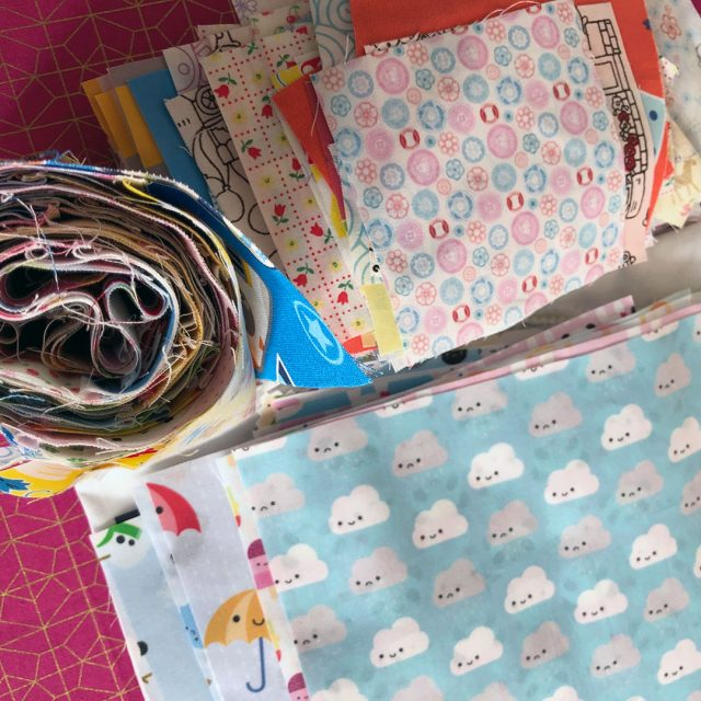kawaii quilt fabric