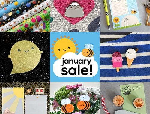 january sale kawaii