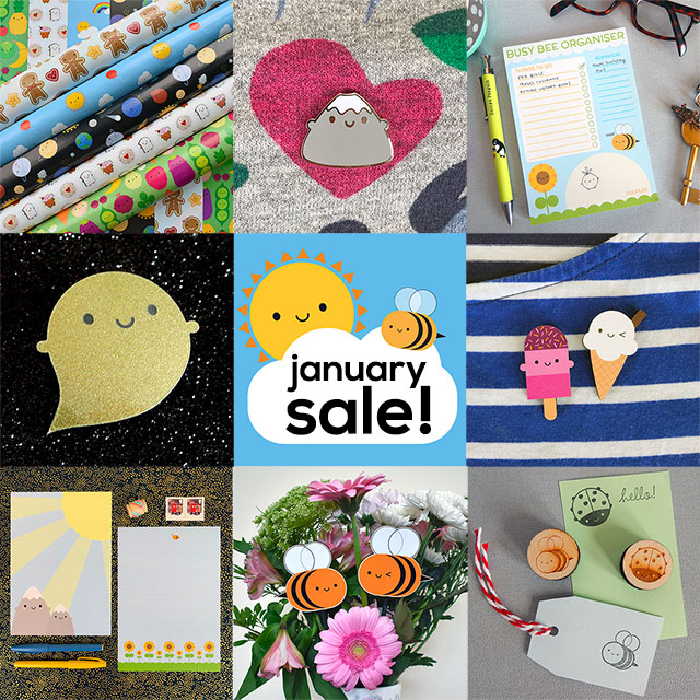 january sale kawaii