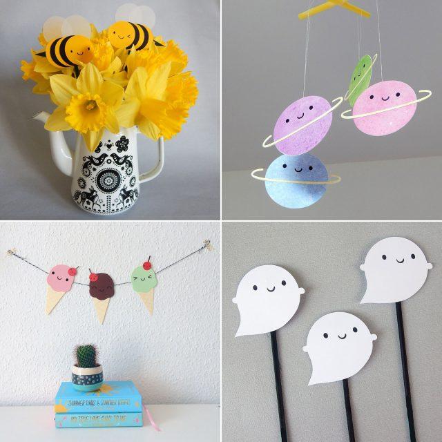papercraft decorations