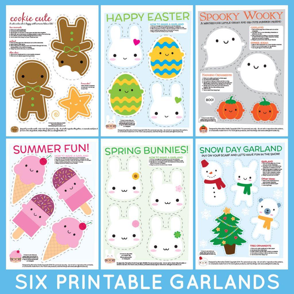 printable garlands