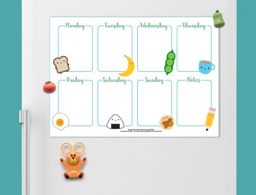 New Printable Weekly Planners