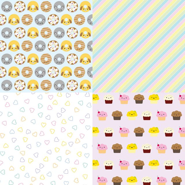 kawaii patterns