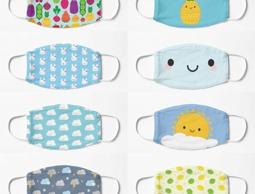 Popular Kawaii Face Masks