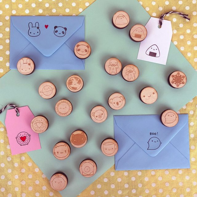 pick and mix polymer stamps