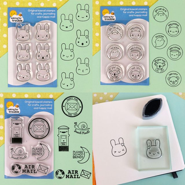clear stamp sets