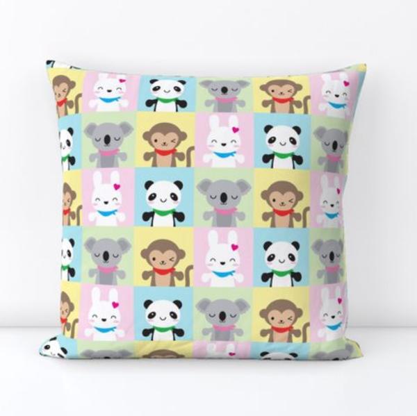 spoonflower pillow
