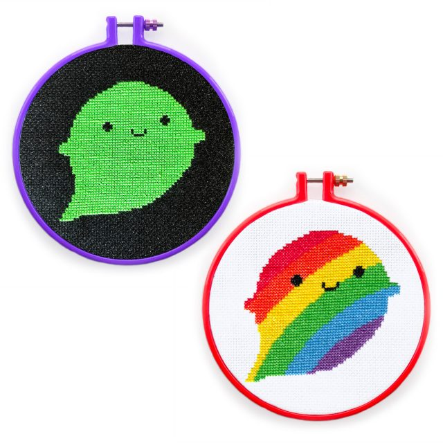 Halloween Ghosts cross stitch patterns