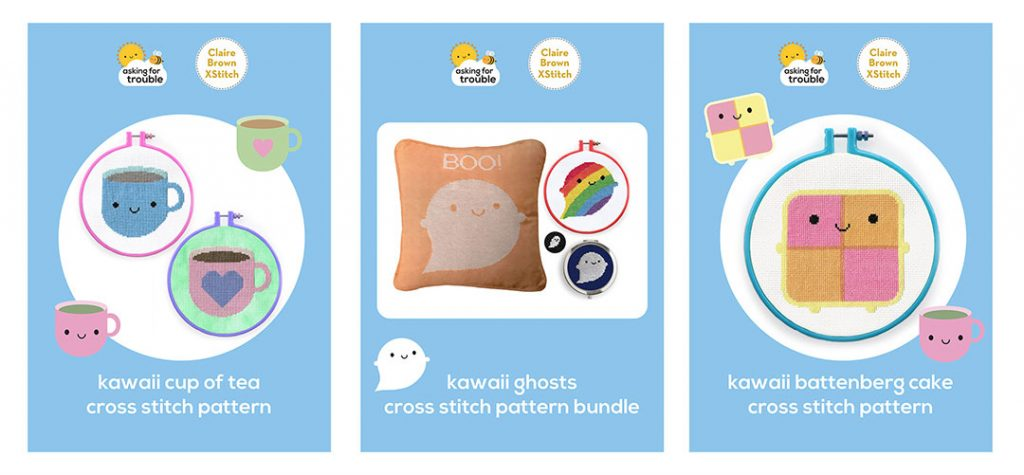 kawaii cross stitch patterns