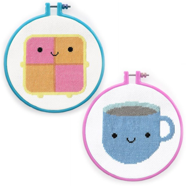 Tea & Cake cross stitch patterns