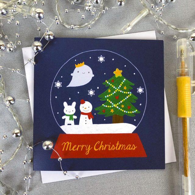 kawaii christmas cards