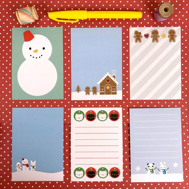 kawaii memo sheets