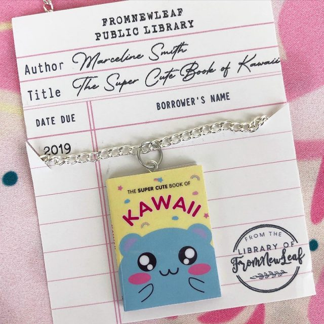The Super Cute Book of Kawaii necklace