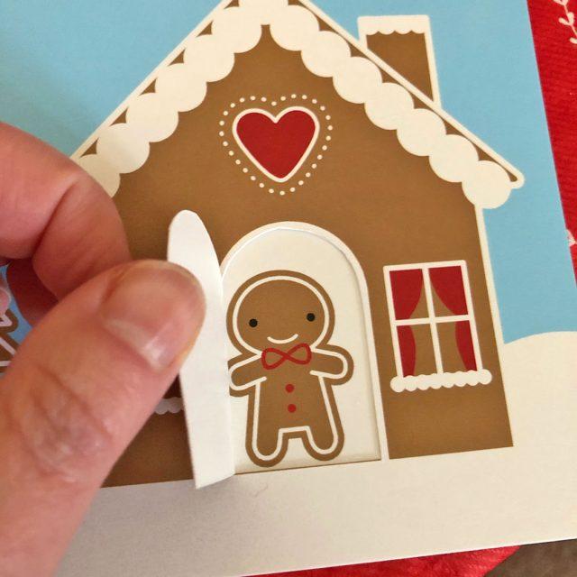 gingerbread house Christmas Card