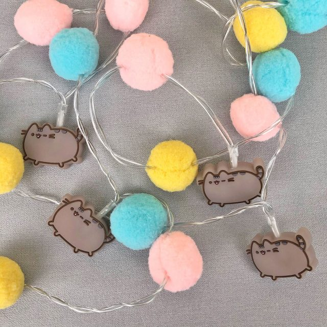 Pusheen string lights