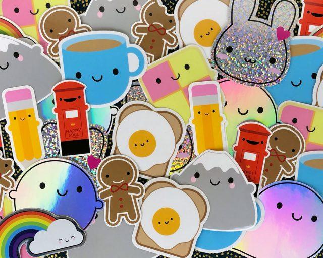 kawaii vinyl stickers