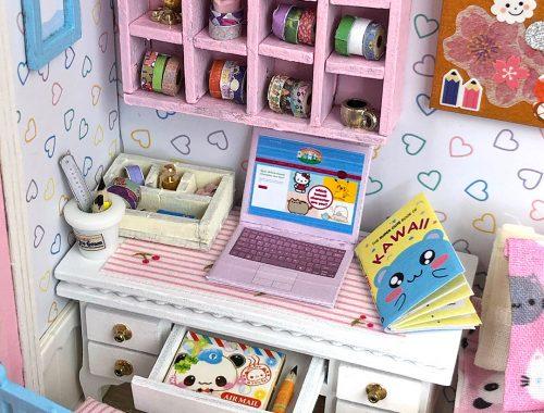 kawaii dollhouse kit