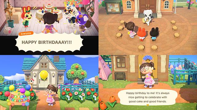 animal crossing birthday